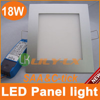 240V Yes Square Bright 18W Dimmable LED Panel Lights Square 225mm *225mm led ceiling light Australia SAA C-TICK CE ROHS Sale