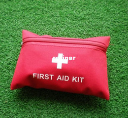 Wholesale Outdoor First Aid Kit Portable Car Travel Emergency Travel small earthquake emergency kits medical kits genuine Camping Set