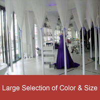 Wholesale White String Curtain Fringe Curtain panel for weddings and events decoration