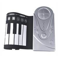 Wholesale Portable Keys Roll Up Electronic Flexible Foldable Keyboard Piano Soft Hand Music Organ For Kid s children s Christmas Gift