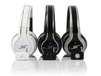 Wireless best wireless noise cancelling headphones - 50 Cent Headphones SMS Audio Limited Edition white black and silver wireless On Ear DJ Headsets super A fast ship via DHL best factory price