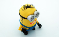 Wholesale DESPICABLE ME Mini Speaker MP3 Player used SD TF Card USB Disk Computer mini speaker