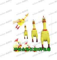 Wholesale LLFA3192 cm Screaming Chicken Pet product WS044 Sound Dog Toys