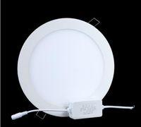 No 85-265V 2835 high quality!!9W 18W Led ceiling Lights Round AC85V-265V Led Panel Light Lamp Suitable for Kitchen Bathroom Bedroom Corridor