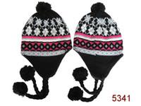 Wholesale new arrival acrylic beanie Knit cap hat Protection ear beanies snapbacks snapback hat Winter snapback baskteball caps