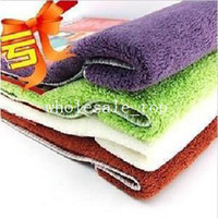 0 0 Sponges, Cloths & Brushes Min. order is $15 (mix order) omnipotent clean wash the dishes car wash towel nano ultrafine fiber wiping towel 20*12cm