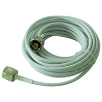 Low Loss Coaxial Cable 12M RG58/50-3 cable New 12 Meters RG58 50-3 Ultra Low Loss Coaxial Cable Connecting Cell Phone Signal Repeater to Antenna