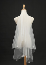 Wholesale 2014 New Two layer Veil Ivory Wedding Bridal Veil Lace With Comb Bridal Accessories RL9432