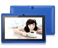 7 inch Dual Core Android 4.4 2013 Q88 A23 dual Camera 7 inch tablet pc android 4.4 better Best Selling Free Shipping Discounted Newest retail packaging