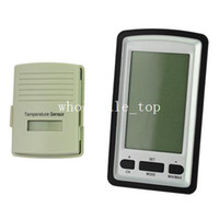 Kitchen Temperature Sensor Yes Wireless weather Station LED Display both Indoor and Outdoor