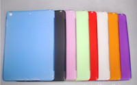 TPU Candy soft Case Cover for Ipad5 Air, TPU Crystal Case She...