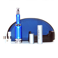 Wholesale 2013 hot sale E cigarette k100 E cig Telescopic mod E cig K100 all made metal Mech Mod Ecig with zipper bag