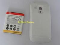 Prolongée boîtier de la batterie de galaxie Avis-200pcs / lot 3500mAh étendu la batterie de téléphone portable avec le cas de couverture arrière pour la galaxie SIII S3 mini i8190 de Samsung Expédition rapide Bon prix