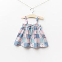 baby girl kids summer flower dress floral dress cotton dress...