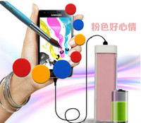 Direct Chargers   Portable Lipstick 2600mAh Power Bank Charger Emergency External Battery Charger for Samsung Galaxy i9300 Note2 N7100 iphone 5 5S 5C 4 4G