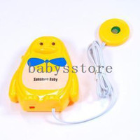 Cheap Free Shipping Adult Baby Sensor Wet Reminder Bedwetting Enuresis Toddler Baby Urine Sensor Alarm Baby Diaper Bed Wetting Alarm