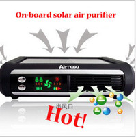 Wholesale Air purifier Car with home dual use ozone purifier With HEPA Nano Solar power