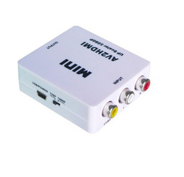 Mini Composite RCA AV CVBS to HDMI 720P 1080P Video Converter Adapter For DVD TV