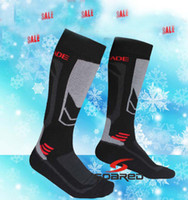 Wholesale Outdoor Ski Socks Breathable Wicking Climbing Men Socks Long Thicken Wool Socks Keep Your Feet And Calf Pair