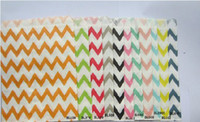 Wholesale Sweet Candy Paper Bags Party Wedding Baby Shower Striped Polka Dot Bag