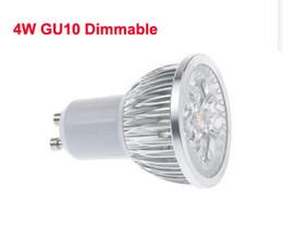 4W GU10 LED Dimmable Projecteurs Aucun 4x3W Réel 4x1W GU 10 / E27 Downlight 4 Watts Dimming Spot Lampe CE ROSH WW / CW 2 ans de garantie 110 / 220V supplier dimmable e27 led 4x1w à partir de dimmable e27 conduit 4x1w fournisseurs