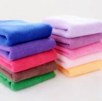 as description hand towels - Luxury Microfiber towel set pc including bath towel hand towel wash towel Red blue green purple coffee orange dark pink