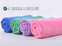 as description bath towels - 4PCS Microfiber towel set pc bath towel hand towel wash towel global shpping