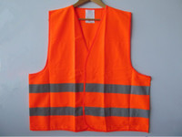 Wholesale Discount High Visibility Reflective Vest Traffic Safety Vest Reflective Fabric