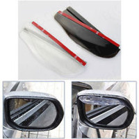 Wholesale 100Sets a general arbitrarily curved rain shield rearview mirror block rain block rain eyebrows plug and play