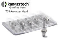 Wholesale Genuine kangertech T3S MT3S EVOD BCC coils head coil heads for kanger T3S MT3S evod BCC clearomizer atomizer cartomzer