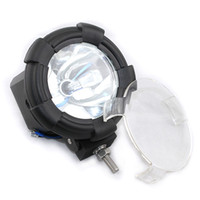 Wholesale 55W V H3 HID searchlight SUVs Automotive Task inch HID work light off road light lm K White Light