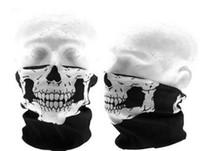 Wholesale 10 Skull Design Multi Function Bandana Ski Sport Motorcycle Biker Scarf Face Mask