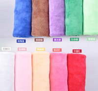 Wholesale 50PCS CM Soft Microfiber Bath Sheet Beach Towel Microfibre Towels Yoga Bath Absorbent Cloths Drying Cloth g each