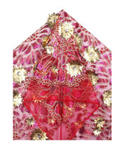 Fabric african clothing - by DHL cotton2013 hot selling wedding dress manufacturer african lace fabric african clothing yards