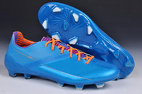 Wholesale 2013 New Arrival World Cup New Style Soccer Shoes F50 Mens Soccer Boots Top Quality Soccer Cleats Size