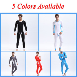 Wholesale 2Set Sexy Mens Modal Long Johns Thermal Underwear Pants Tops T Shirts V Neck Long Sleeve Low Wasit Warm Trousers Bottoms