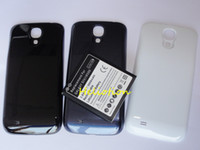 Wholesale Hot sale Replacement mAh Extended Battery with Back Cover For Samsung Galaxy SIV S4 i9500 i545 L720 R970