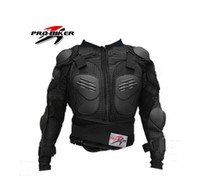 Jackets Nylon / Cotton Breathable Wholesale-PRO-BIKER Moto racing body armor racing Armor,motorcycle armor,motor protector motorbike armors motor Drop the clothes Black color