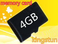 Wholesale GB Micro SD Memory Cards Class Microsd HC Genuine GB tf card Class4 with adapters kingstun