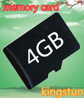 Wholesale Cell phone TF GB Micro SD Memory Cards Class Microsd HC Genuine GB tf card Class4 with adapters kingstun