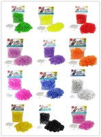 Wholesale Selling all kinds of rainbow looms light flash color color mixing Welcome single Christmas gift Rainbow Loom chain Rubber band