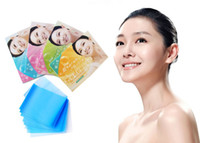 Wholesale Oil Control Tissue blot Sheet face oil absorption paper wax strip star product women necessary article Face Facial paper Q560C