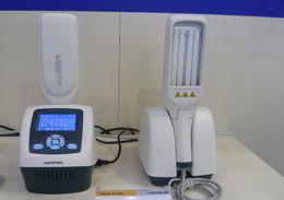 Wholesale PROMOTION handheld UV phototherapy nm narrow band UVB lamps for vitiligo psoriasis KN BL foot and hand vitiligo lamp