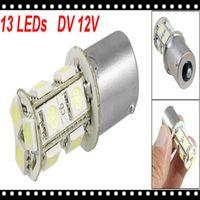 Wholesale Sales promotion Low power BA15S Car Signal SMD LED Cold White Light Lamp Bulb Turn Tail Brake V