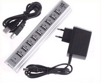 Wholesale Best price USB Ports Hub Power Adaptor PC Notebook EU Plug