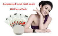 Wholesale Skin Face Care Compressed facial mask DIY mask paper Skin Face Care Masque pack Drop Shipping Natural Pretty Q560A