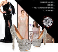 Hot selling Sparkling Crystal Diamond Wedding Bridal Dress S...