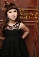 Wholesale Children Girls PHELFISH Dresses Kids Clothes Girl Lace Slip Dress Sexy Summer Dresses CC220