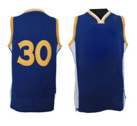 Wholesale 30 Stephen Curry Warriors Basketball Jerseys Resonate Fashion Swingman Jersey Royal Blue Athletic Apparel Jerseys High Quality Breathable