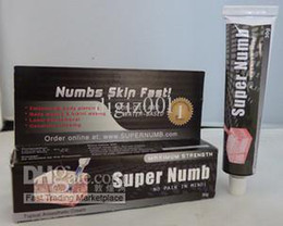 Wholesale Super Numb Cream for Skin Numb Laser Piercing Hair Wax g Tube Tattoo Cream